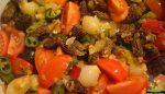Bodrum kuzu göbeği mantarı yemeği