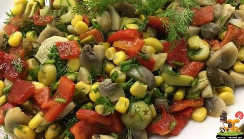 Mantar salatası